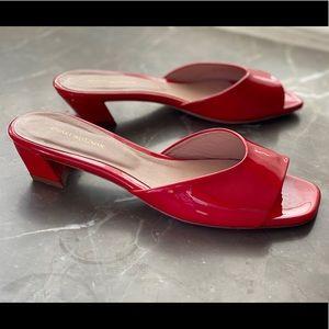 Stuart Weitzman low heel sandals